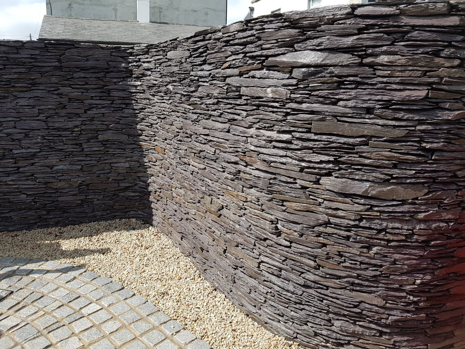 Natural Stone Walls : Dry stone walls landscape design construction