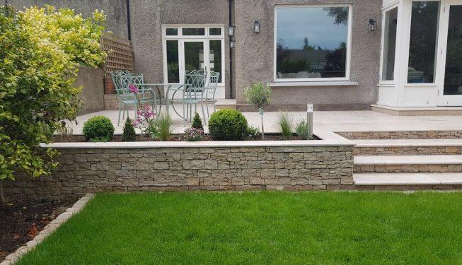 Dartry Park - Limestone steps 2