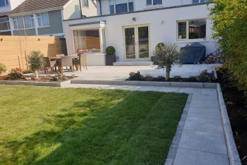 Dalkey Back Garden 1 - Roll out grass sod turf